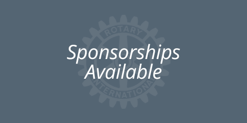 Contact us to become a Club Sponsor